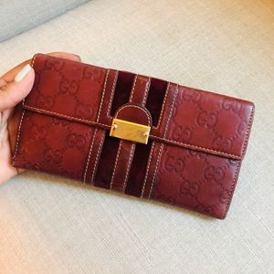 Gucci Bags - Authentic Gucci Large Leather Wallet
